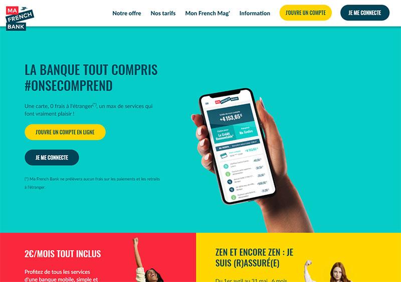 Ma french bank avis : inscription, services, tarifs et fiabilité